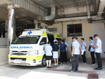 การเยี่ยมสำรวจเพื่อต่ออายุการรับรองกระบวนการคุณภาพโรงพยาบาล