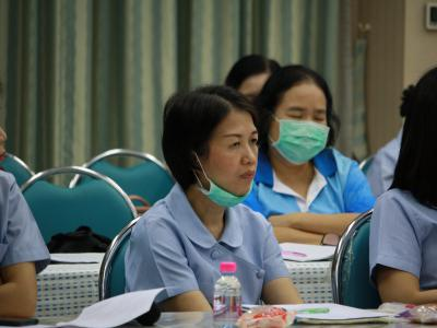 รพ.สูงเม่นเปิดการประชุมเตรียมความพร้อมและซ้อมแผนโคโรน่าไวรัส