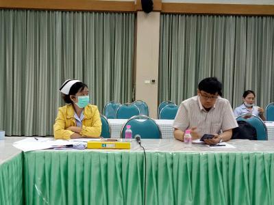 รพ.สูงเม่นร่วมประชุมรับฟัง web conference กรณี covid - 19