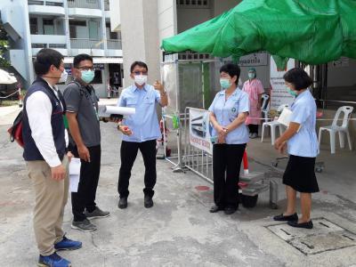 การเยี่ยมประเมินและเสริมพลังจากทีม ศูนย์สนับสนุนบริการสุขภาพที่
