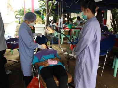 โรงพยาบาลสูงเม่นร่วมออกจัดกิจกรรมหน่วยแพทย์ พอ.สว. ประจำปีงบ2563