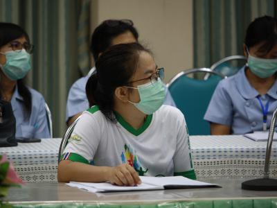 โรงพยาบาลสูงเม่นจัดประชุม (คป.สอ.)