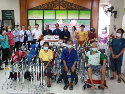พิธีรับมอบอุปกรณ์เครื่องช่วยคนพิการฯ โรงพยาบาลสูงเม่น